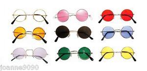 Hippy-Hippie-60s-70s-John-Lennon-Round-Ozzy-Granny-Fancy-Dress-Costume-Glasses