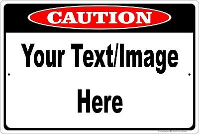 """Personalized 8/""""x12/"""" Aluminum Metal Sign With Custom Background//Font//Text//Color"""