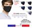 miniature 15 - 5 Masques tissu cotton lavable et 20 filtres PM2.5 carbon active Stock France