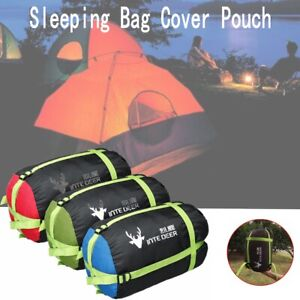 Sleeping-Bag-Compression-Sack-Cover-Pouch-Stuff-Outdoor-Camping-Hiking-Rafting
