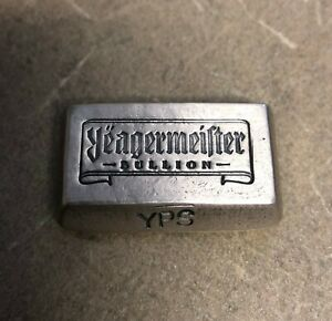 2oz-999-Fine-Silver-Yeagermeister-Bullion-bar-by-Yeager-039-s-Poured-Silver-YPS