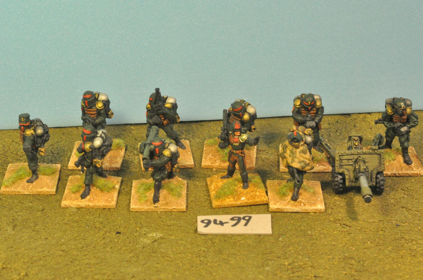Guardia Imperiale Cadian 10 & Arma Pesante Mettuttio  (9499)  economico in alta qualità