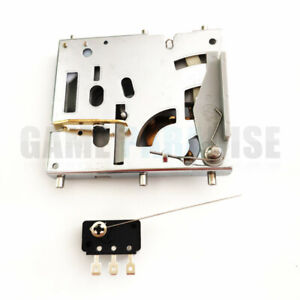2pcs-Mechanical-coin-acceptor-with-switch-for-arcade-coin-door-vending-machine