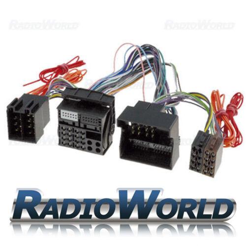 VW manos libres Bluetooth Parrot Plomo ISO Adaptador completamente ocupados volante Co