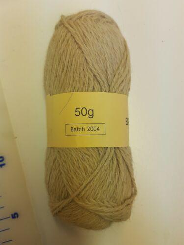 Alpaca yarn 3ply aran off white