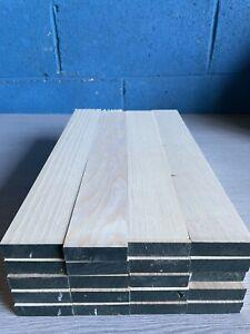 Ash TImber - Natural Wood- Offcuts - Hardwood 20 Pieces 58mm X 18mm X 400mm long