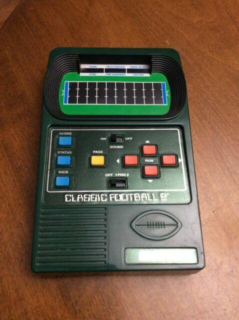 Mattel Classic Football Handheld Game Inc.