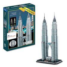 Malaysian Petronas Twin Towers 3D Puzzle (86 pcs) New