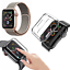 CINTURINO-COVER-VETRO-TEMPERATO-9H-per-Apple-Watch-5-4-3-2-44-42-40-38-mm miniatura 18