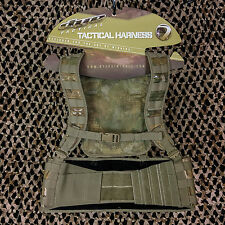 Dye Tactical Assault MOLLE Paintball Vest Harness Pod Pack - DyeCam Camo