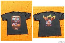 INSANE CLOWN POSSE T Shirt Double Sided Get Ya Wicked On Hip Hop Rap Metal ICP
