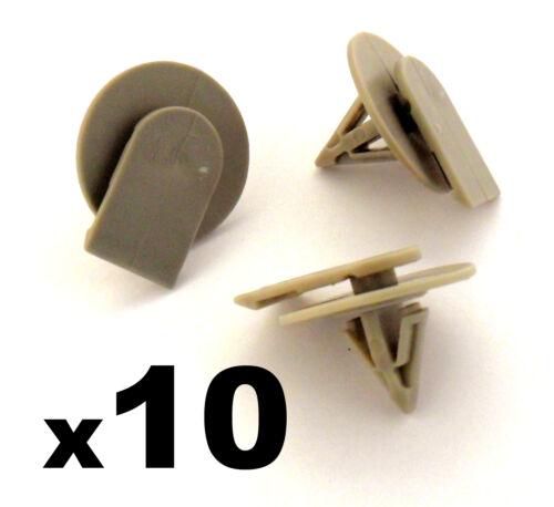 couverture sill trim fastener clips 10x BMW Mini jupe côté plastique de protection
