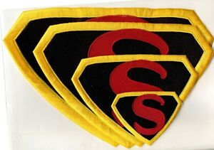 Superman-1942-Japoteurs-Embroidered-Chest-Logo-Patch-choice-of-sizes