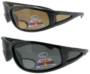 7b374b9075 Image is loading Polarized-BiFocal-Sunglasses-Reading-100-UV-TAC-Lens-