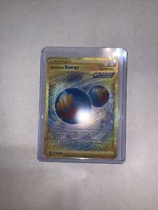 Pokemon Card Rapid Strike ENERGY 182/163 Battle Styles FA GOLD SECRET RARE MINT!