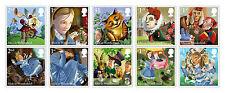 2015 GB Alice's Adventures in Wonderland Stamp Set