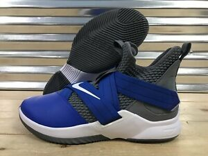 quality design 54840 b354d Nike Lebron Soldier XII 12 iD Basketball Shoes Kentucky Blue ...