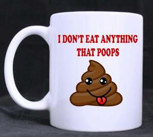 Image Is Loading Funny Vegetarian Vegan Novelty 11oz Tea Coffee Mug