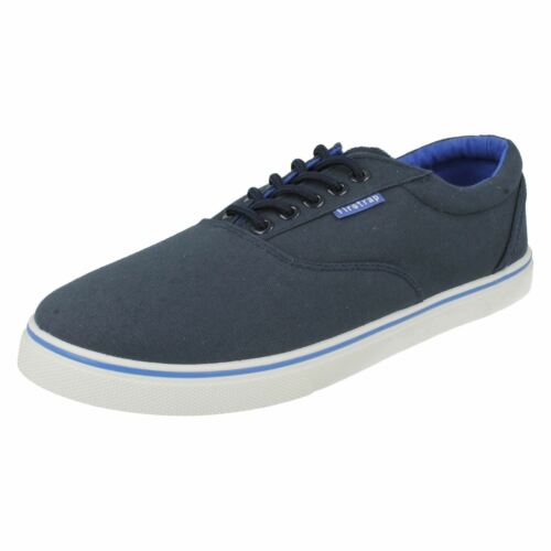 MENS FIRE TRAP NAVY LACE UP PUMPS STYLE MURPHY