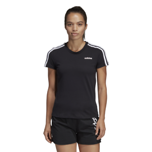 Adidas-Women-Tshirt-SportStyle-Tee-Essentials-3-Stripes-Training-DP2362-Running