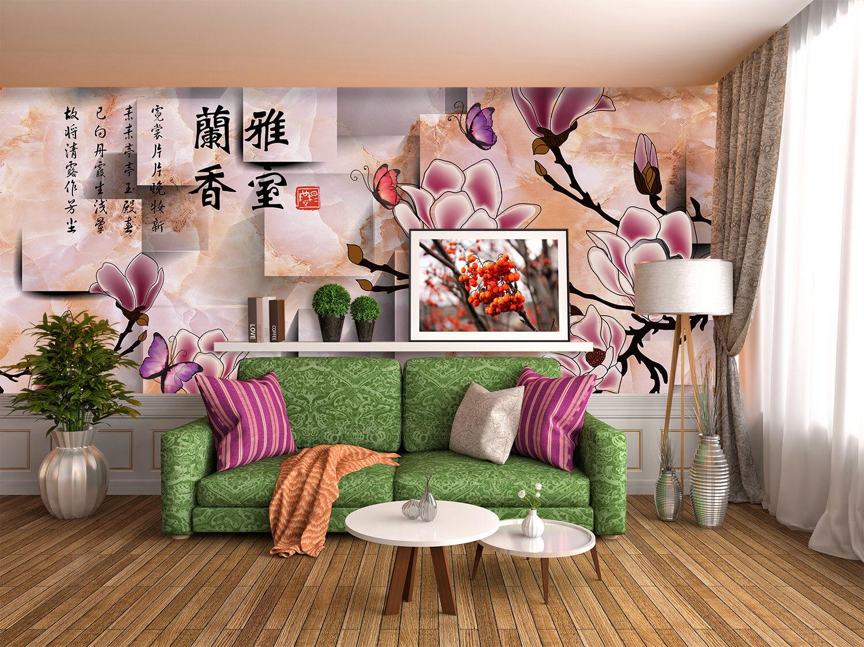 3D Kunststil bluemen 73 Tapete Wandgemälde Tapete Tapeten Bild Familie DE Summer
