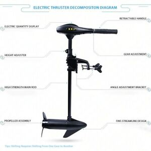 Limited to one piece Electric Motor Marine Electric Vessel