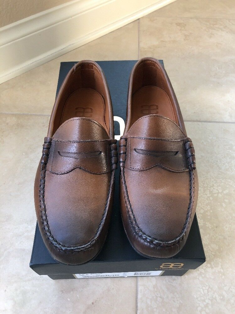 New With Box Allen Edmonds SIESTA KEY Penny Loafers 9.5 D marrone Color