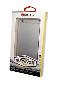 Griffin-Survivor-Clear-Tough-Case-Cover-for-iPhone-6-PLUS-6S-plus-clear-NEW