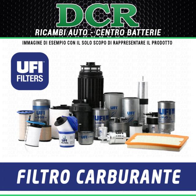 Filtro carburante UFI 24.061.01 NISSAN QASHQAI (J10, JJ10) 1.6 dCi 96KW 130CV