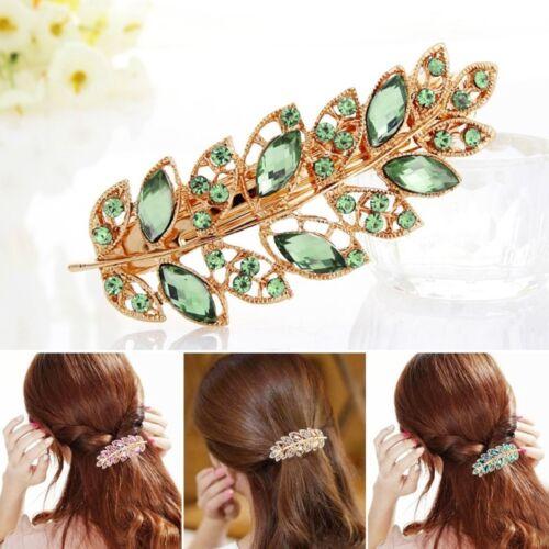 Barrette Fashion Hair Clip Hairpin Crystal Rhinestones Hair Accessories Hairclip