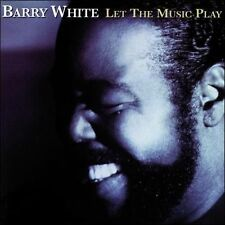 BARRY WHITE Let The Music Play CD BRAND NEW