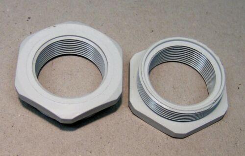 Reducción de reducción m40//m32 de plástico blanco nuevo
