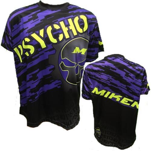 Purple Camo 4XL Miken Psycho Short Sleeve Shirt