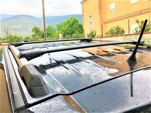 To Fit Skoda Kodiaq Since 2016 Lockable Aerodynamic Cross Bars Roof Rack BLACK