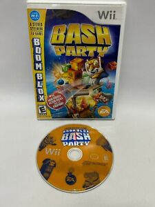 Boom Blox Bash Party Game Nintendo Wii Video Game Case & Game No Manual Tested