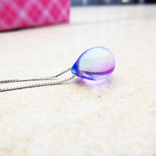 Water Drop Mermaid/'s Sea Sand Mermaid Pendant Jewelry Necklace Mermaid/'s Tears