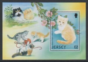 Jersey-2002-Caesarea-Chat-Club-Feuille-MNH-Sg-MS1066