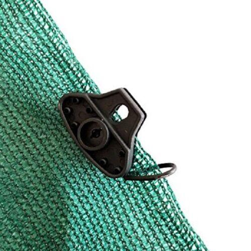 Shatex Black Shark-shape 60pack Shade Fabric Clips