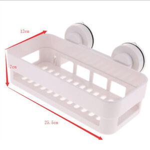 Accessori Da Bagno Con Ventosa.Dettagli Su Cestello Portaoggetti Da Parete Per Bagno Con Ventosa Per Accessori Bagno