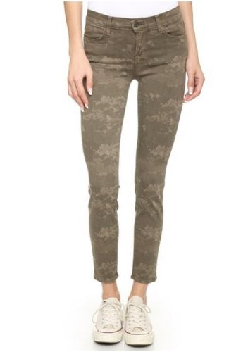 Pants Enkel Brand Cropped Skinny Olive Jeans Women's Nieuwe J Mid Camo Rise zSUMpV