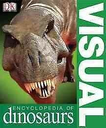 Visual-Encyclopedia-Of-Dinosaurs-Paperback-by-Dixon-Dougal-Brand-New-Free