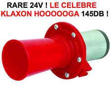 24V ! Le Celebre Klaxon Hoooooga! 145db RAID 4X4 HDJ KDJ PATROL LAND JEEP PAJERO