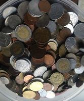 900 gramm kg Weltmünzen meist Europa kein Silber unsortiert 9,99€ pro kilo