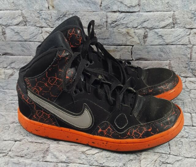 Nike Son Of Force Mid Lava 807386 008 Youth Athletic Basketball Shoes Size 5Y
