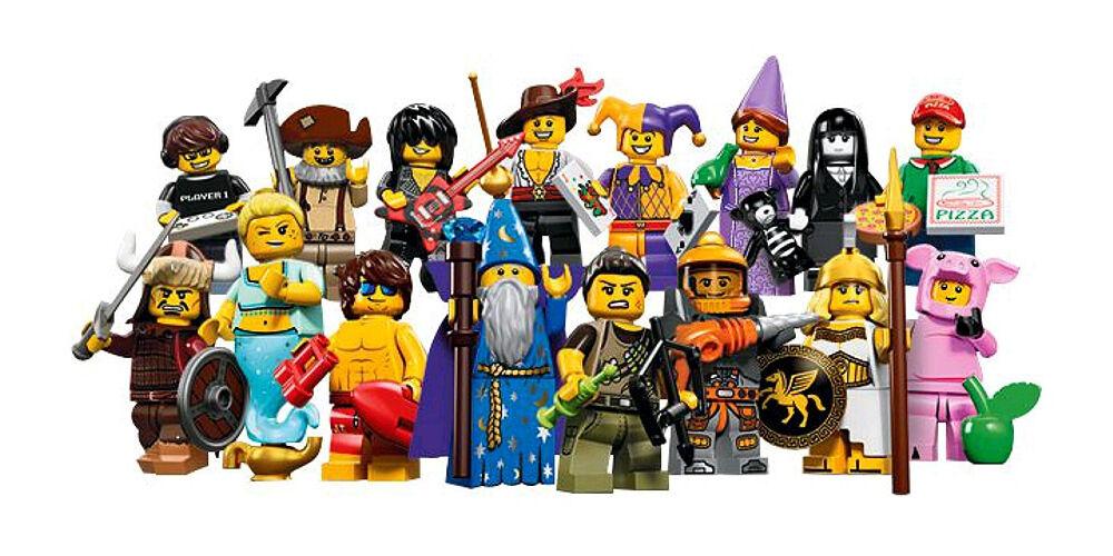 Lego 71007 juego completo de 16 minifiguras NUEVAS serie 12
