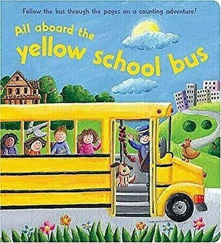 Gelb School Bus Brett Bücher Jeane Cabral