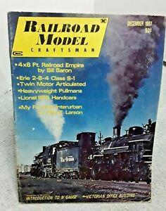 Railroad-Model-Craftsman-Magazine-December-1967-Z-N-HO-S-O-G-vintage