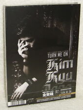 SS501 Kim Kyu Jong Turn Me On Taiwan Ltd CD+4 Cards (the First Mini Album)