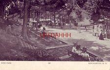pre-1907 ROSS PARK, BINGHAMTON, N.Y. horsedrawn carriages
