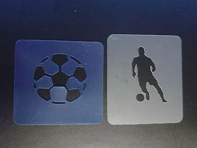 Plantilla Soccer ball lion Set of 10 Brand New Stencil Reusable Body painting car fire spider web D